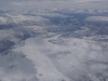 View from the plane to Hammerfest